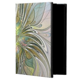 Capa Para iPad Air 2 Flor moderna da arte do Fractal da fantasia floral
