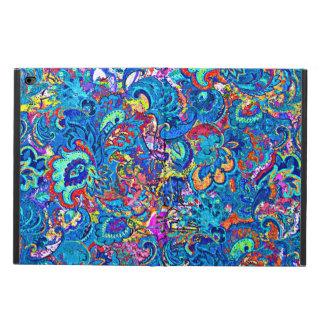 Capa Para iPad Air 2 Flores abstratas coloridas bonitos da pintura