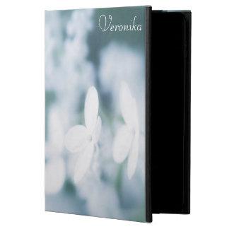 Capa Para iPad Air 2 Flores brancas bonitas