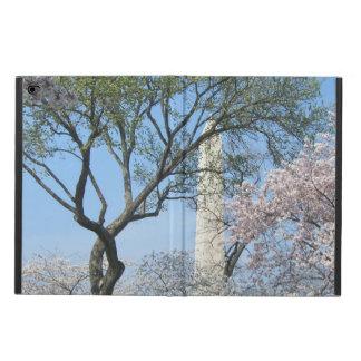 Capa Para iPad Air 2 Flores de cerejeira e o monumento de Washington na