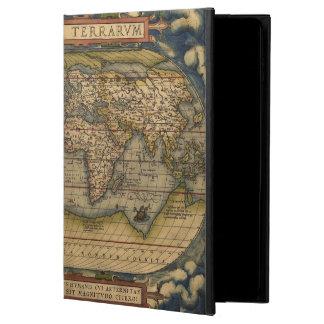 Capa Para iPad Air 2 Formulário de Ortelius do mapa do mundo