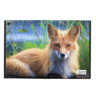 Capa Para iPad Air 2 Fox vermelho que coloca nos animais selvagens