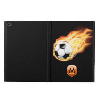 Capa Para iPad Air 2 Futebol/monograma personalizado futebol