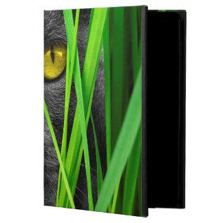 Capa Para iPad Air 2 Gato com folha e os olhos especiais