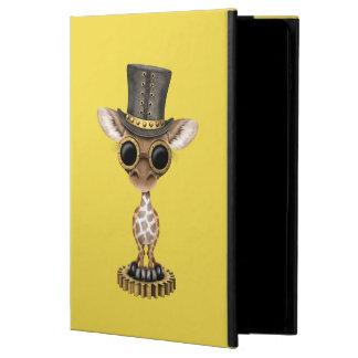 Capa Para iPad Air 2 Girafa bonito do bebê de Steampunk