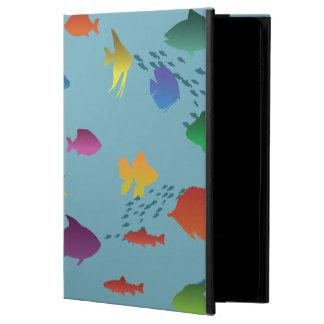 Capa Para iPad Air 2 Grupo colorido de peixes subaquáticos