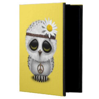 Capa Para iPad Air 2 Hippie nevado da coruja do bebê bonito