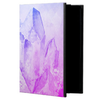 Capa Para iPad Air 2 Impressões Amethyst felizes do divertimento do *~*