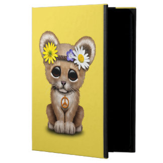 Capa Para iPad Air 2 Leão bonito Cub do Hippie