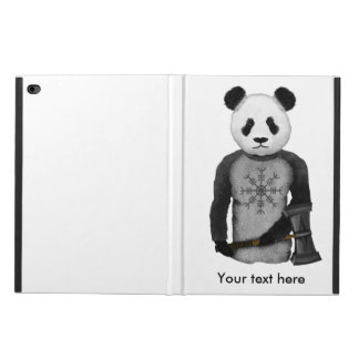 Capa Para iPad Air 2 Leme de Viking da panda do incrédulo