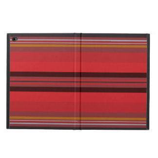 Capa Para iPad Air 2 Listras - horizonte vermelho