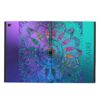 Capa Para iPad Air 2 Mandala metálica Hued legal colorida personalizada