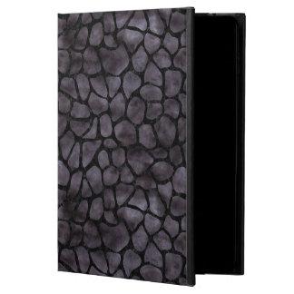 CAPA PARA iPad AIR 2  MÁRMORE SKIN1 PRETO & AGUARELA PRETA