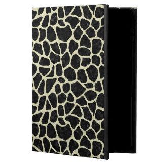CAPA PARA iPad AIR 2  MÁRMORE SKIN1 PRETO & LINHO BEGE (R)