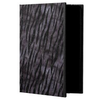 CAPA PARA iPad AIR 2  MÁRMORE SKIN3 PRETO & AGUARELA PRETA (R)