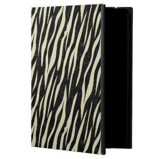 CAPA PARA iPad AIR 2  MÁRMORE SKIN3 PRETO & LINHO BEGE