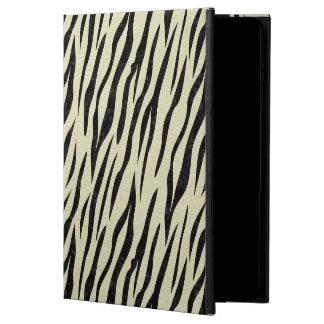 CAPA PARA iPad AIR 2  MÁRMORE SKIN3 PRETO & LINHO BEGE (R)
