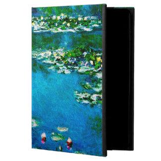 Capa Para iPad Air 2 Monet-Água-Lírios de Claude