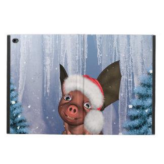 Capa Para iPad Air 2 Natal, leitão pequeno bonito
