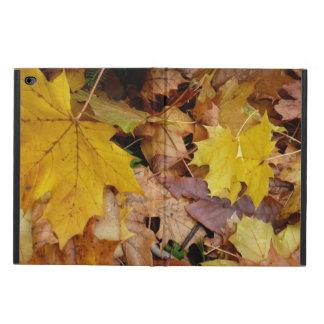 Capa Para iPad Air 2 Natureza amarela caída do outono das folhas de