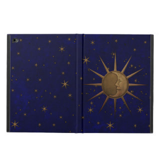 Capa Para iPad Air 2 Noite estrelado da lua celestial de Sun