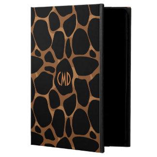 Capa Para iPad Air 2 O cobre tonifica o teste padrão do leopardo