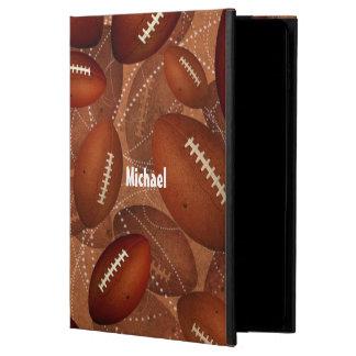 Capa Para iPad Air 2 o futebol dos homens personalizados