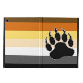 Capa Para iPad Air 2 O gay legal carrega a pata de urso da bandeira do