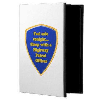 Capa Para iPad Air 2 Oficial de patrulha da estrada
