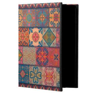 Capa Para iPad Air 2 Ornamento de talavera do mosaico do vintage