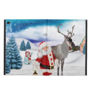 Capa Para iPad Air 2 Papai Noel engraçado
