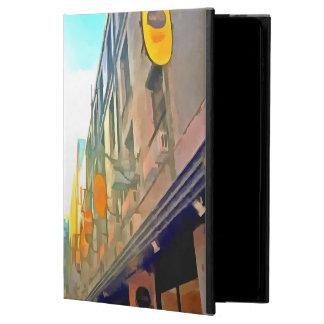 Capa Para iPad Air 2 Passagem entre construções coloridas