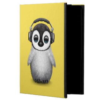 Capa Para iPad Air 2 Pinguim bonito DJ do bebê que veste fones de