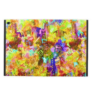 Capa Para iPad Air 2 Pintura abstrata colorida bonito