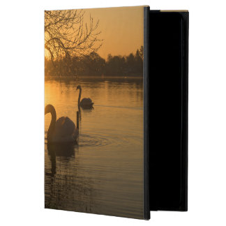 Capa Para iPad Air 2 Por do sol com cisne