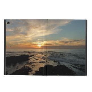 Capa Para iPad Air 2 Por do sol de San Diego mim Seascape de Califórnia