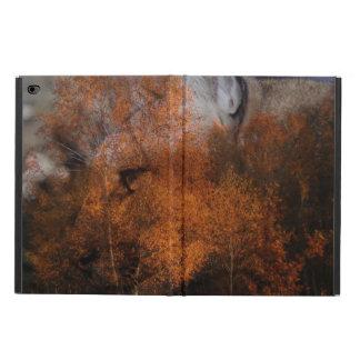 Capa Para iPad Air 2 Puma dos animais selvagens da silhueta da árvore