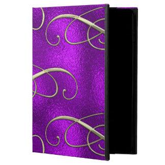 Capa Para iPad Air 2 Redemoinhos românticos do Natal do Lilac