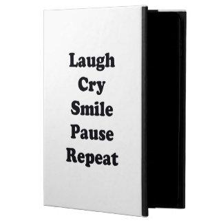Capa Para iPad Air 2 Repetição do riso