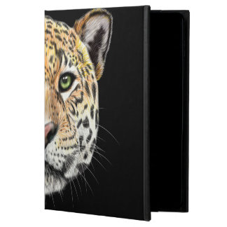 Capa Para iPad Air 2 Retrato ilustrado do Jaguar.