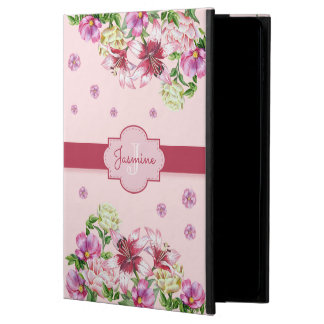 Capa Para iPad Air 2 Rosa floral do lírio & da peônia