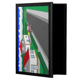 Capa Para iPad Air 2 Ruas e construção de casa