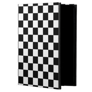 Capa Para iPad Air 2 Tabuleiro de damas preto e branco