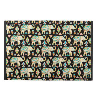 Capa Para iPad Air 2 Teste padrão colorido bonito dos elefantes