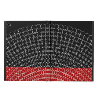 Capa Para iPad Air 2 Teste padrão geométrico do planeta vermelho