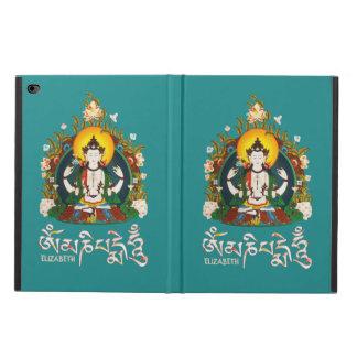 Capa Para iPad Air 2 Tibetano do zumbido de Buddha Amitabha OM Mani