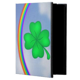 Capa Para iPad Air 2 Trevo De Quatro Folhas com arco-íris