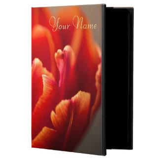 Capa Para iPad Air 2 Tulipa vermelha