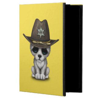 Capa Para iPad Air 2 Xerife bonito do lobo do bebê