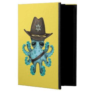 Capa Para iPad Air 2 Xerife bonito do polvo do bebê azul